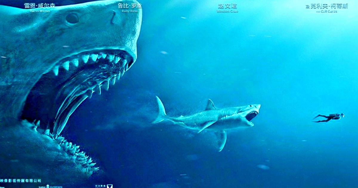 The Meg International Trailer Has Scary New Shark Footage