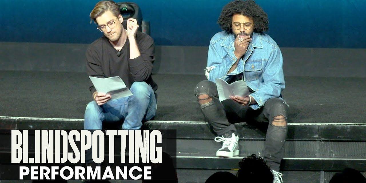 Blindspotting powerful spoken-word performance – Daveed Diggs, Rafael Casal – CinemaCon 2018