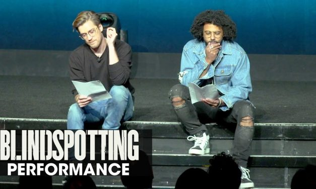 Blindspotting powerful spoken-word performance – Daveed Diggs, Rafael Casal – CinemaCon 2018