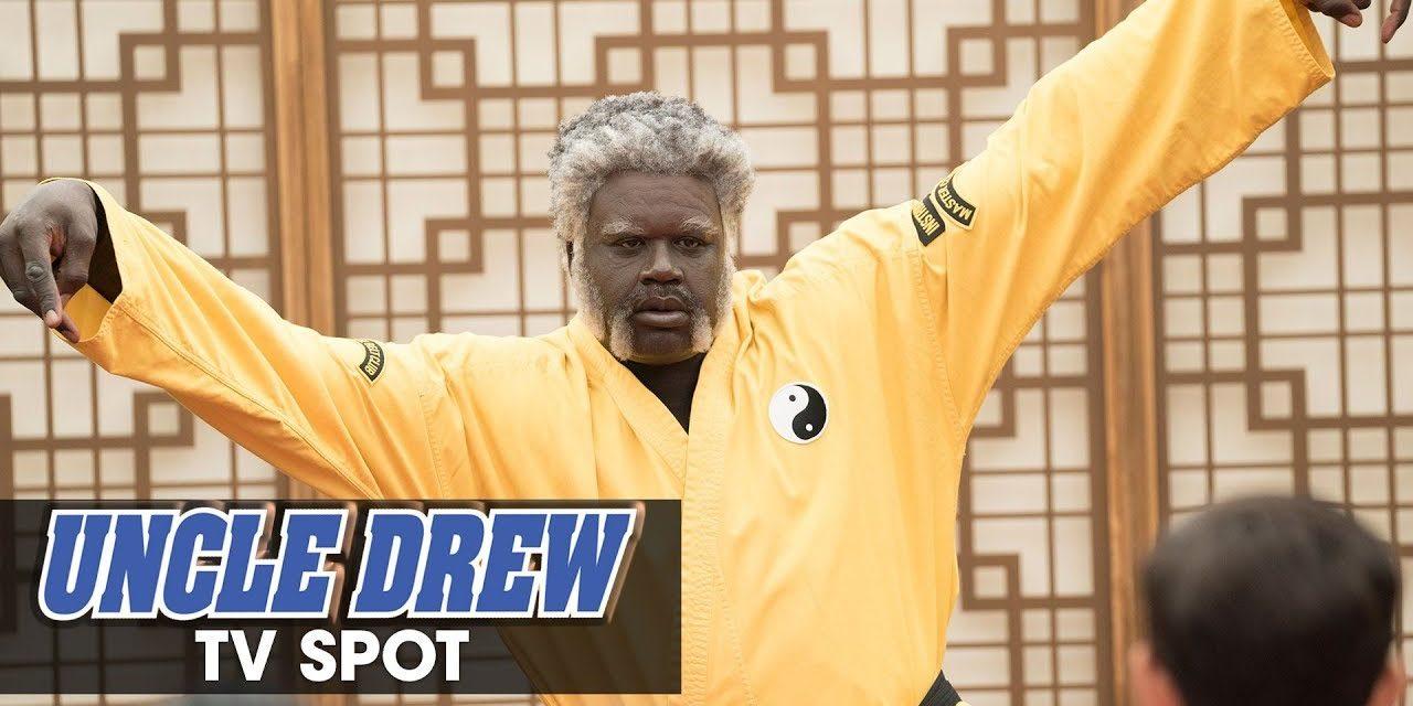 "Uncle Drew (2018 Movie) Official TV Spot ""Wisdom"" – Kyrie Irving, Shaq, Lil Rel, Tiffany Haddish"