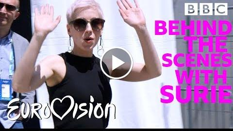 Go Behind the Scenes of Eurovision with SuRie – Eurovision  s 2018
