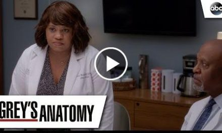 Dr. Baileys Apology   Greys Anatomy Season 14 Episode 22