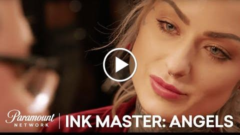 Ryan Ashleys Tattoo Evokes an Emotional Childhood Memory  Ink Master: Angels (Season 2)