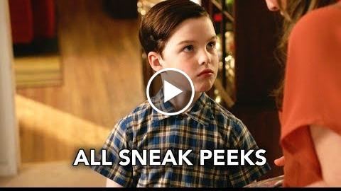 "Young Sheldon 1×21 All Sneak Peeks ""Summer Sausage, a Pocket Poncho, and Tony Danza"" (HD)"