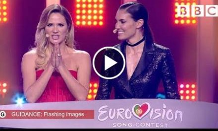 The first 10 songs to get through  Semi Final 1 Qualifiers – The Eurovision Song Contest 2018 – BBC