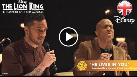 THE LION KING  He Lives In You – Nick Afoa And Shaun Escoffery  Official Disney UK