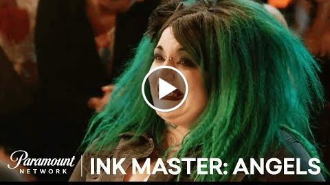 Doty is Forced to Freehand in Final Face Off | Ink Masters: Angelology ( 2)