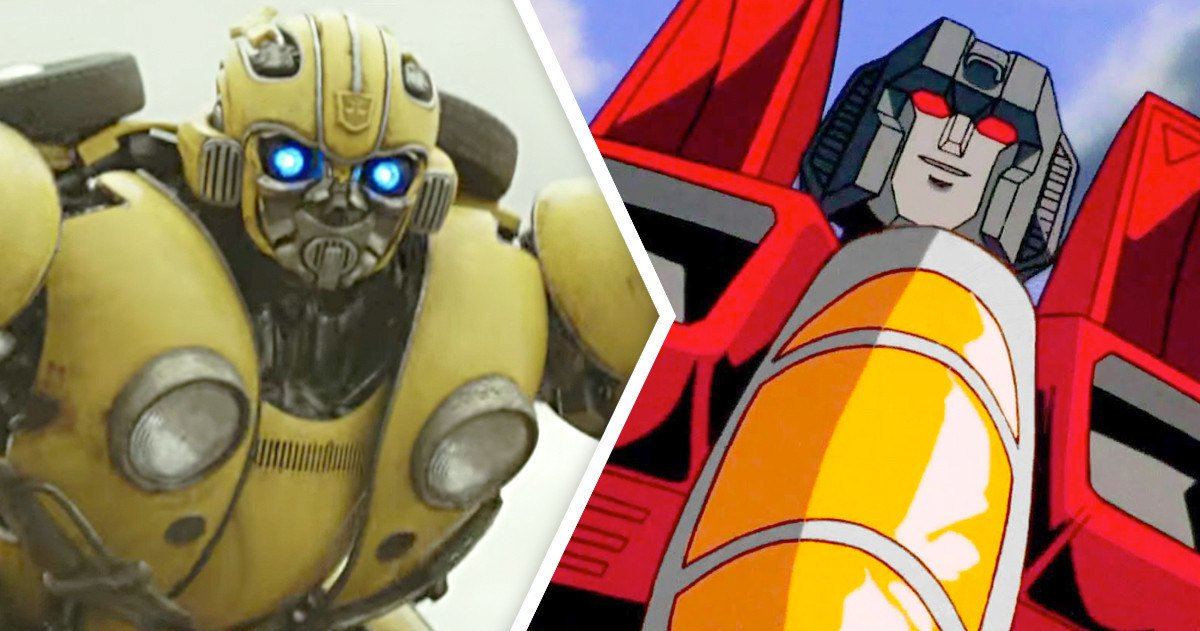 Bumblebee Trailer Arrives, Old School 80s Starscream Revealed