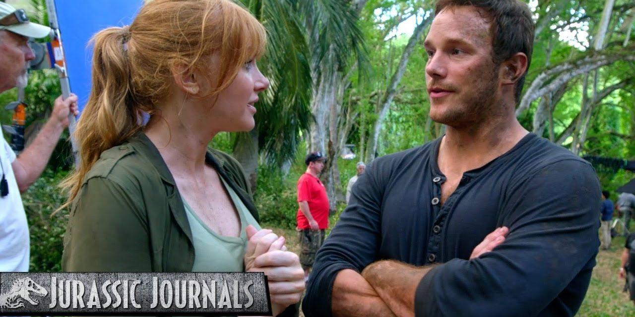Chris Pratt's Jurassic Journals: Bryce Dallas Howard (HD)