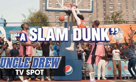 "Uncle Drew (2018 Movie) Official TV Spot ""Slam Dunk"" – Kyrie Irving, Shaq, Lil Rel, Tiffany Haddish"