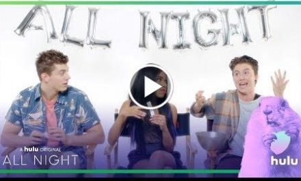 "All Night-time: ""Would You Rather?"" With The Cast • A Hulu Original Series"