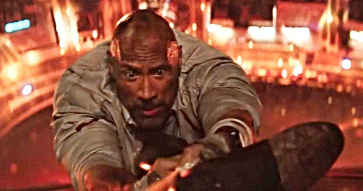 Final Skyscraper Trailer Pushes The Rock to the Ultimate Limit