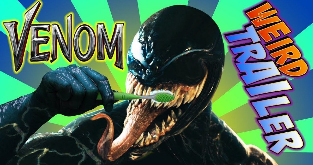 Venom Weird Trailer Goes Insanely Off the Rails