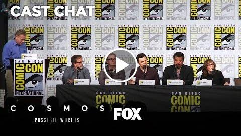 Cosmos: Possability Worlds Panel At Comic-Con 2018 | Kosmos: Possibly WORLDS