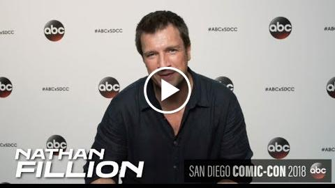 The Rookie at Comic Con 2018