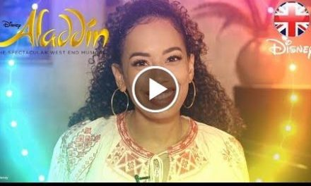ALADDIN THE MUSICAL    Does  Mean To You?   Official  UK