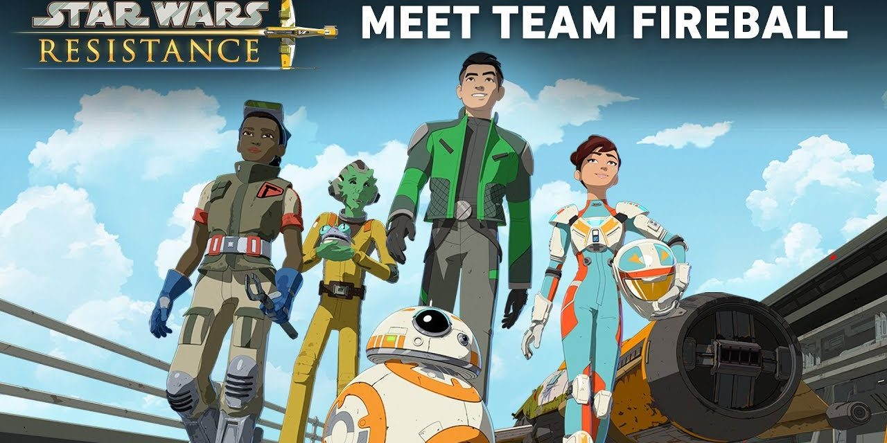 Star Wars Resistance: Meet Team Fireball