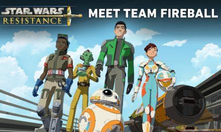 Star Wars Resistance: Meet Team Fireball