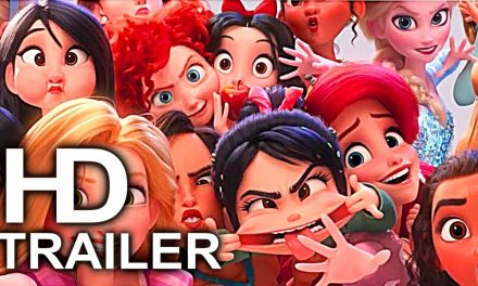 WRECK IT RALPH 2 Frozen, Merida, Disney Princesses & Moana Funny Scenes Best Scenes Trailer (2018)