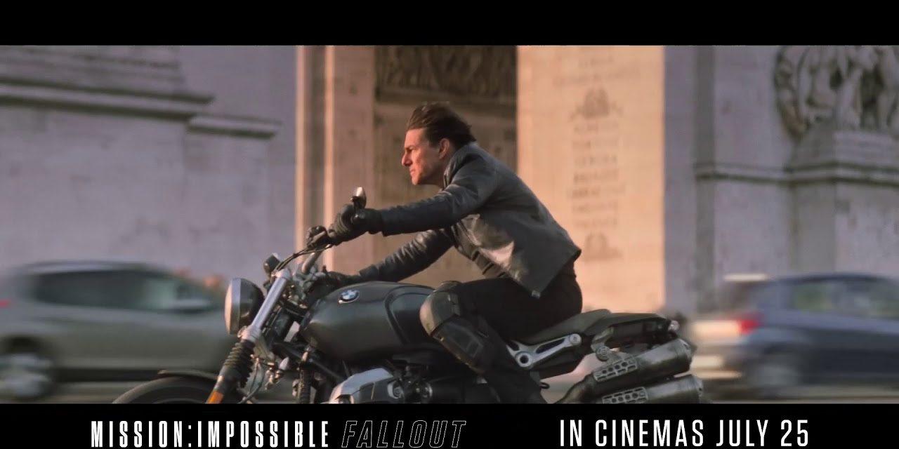 Mission: Impossible Fallout | Arc de Triomphe | Paramount Pictures UK