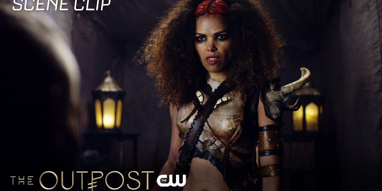 The Outpost | The Book Of Names Scene | The CW
