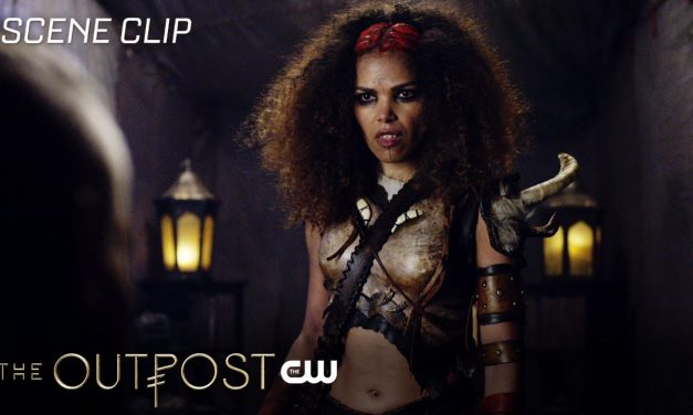 The Outpost   The Book Of Names Scene   The CW