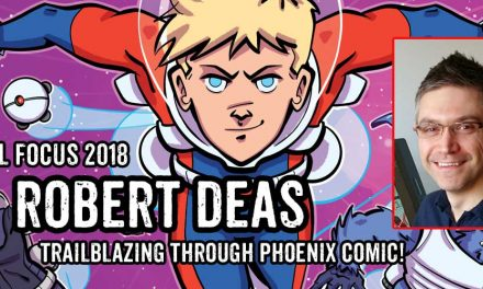 "Lakes Festival Focus: Comic Artist and Writer Robert Deas, creator of ""Trailblazers"""