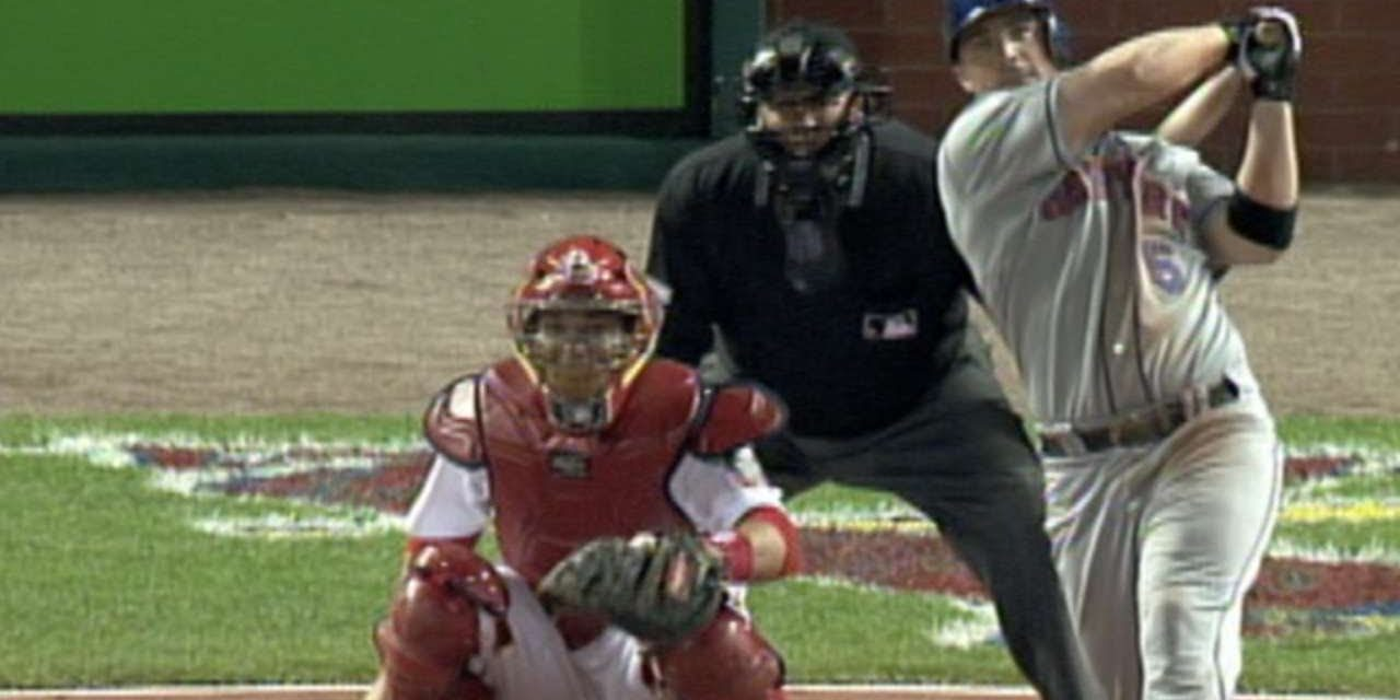 Wright hits 1st career postseason home run in Game 4 of 2006 NLCS