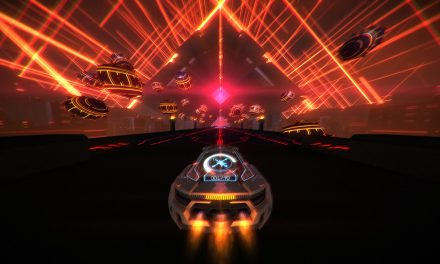 Neon laser jet-car racer Distance launches out of early access