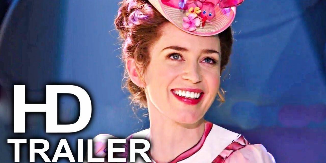 MARY POPPINS RETURNS Trailer #2 NEW (2018) Emily Blunt, Disney Movie HD