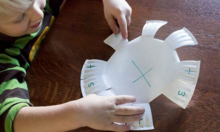 Super Simple Paper Plate Letter Learning Activity for Preschoolers