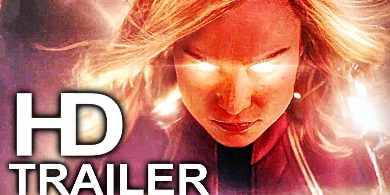 CAPTAIN MARVEL Trailer #1 NEW (2018) Superhero Movie HD