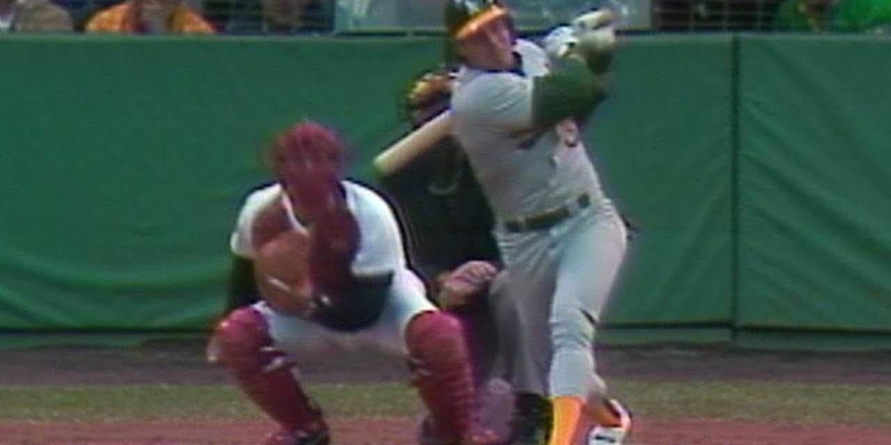 Canseco belts a solo home run