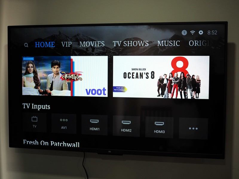 Xiaomi Mi LED TV 4 Pro preview: Android TV and PatchWall in one package