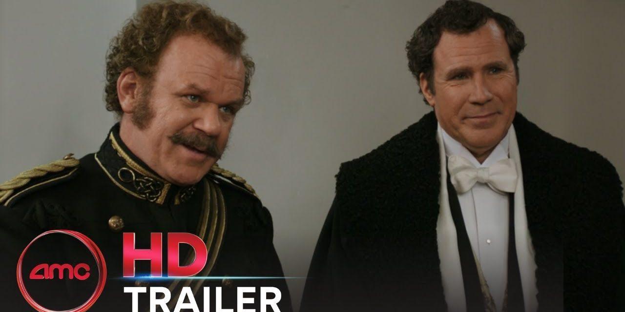 HOLMES & WATSON – Official Trailer (Will Ferrell, John C. Reilly)   AMC Theatres (2018)