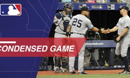 Condensed Game: NYY@TB – 9/24/18