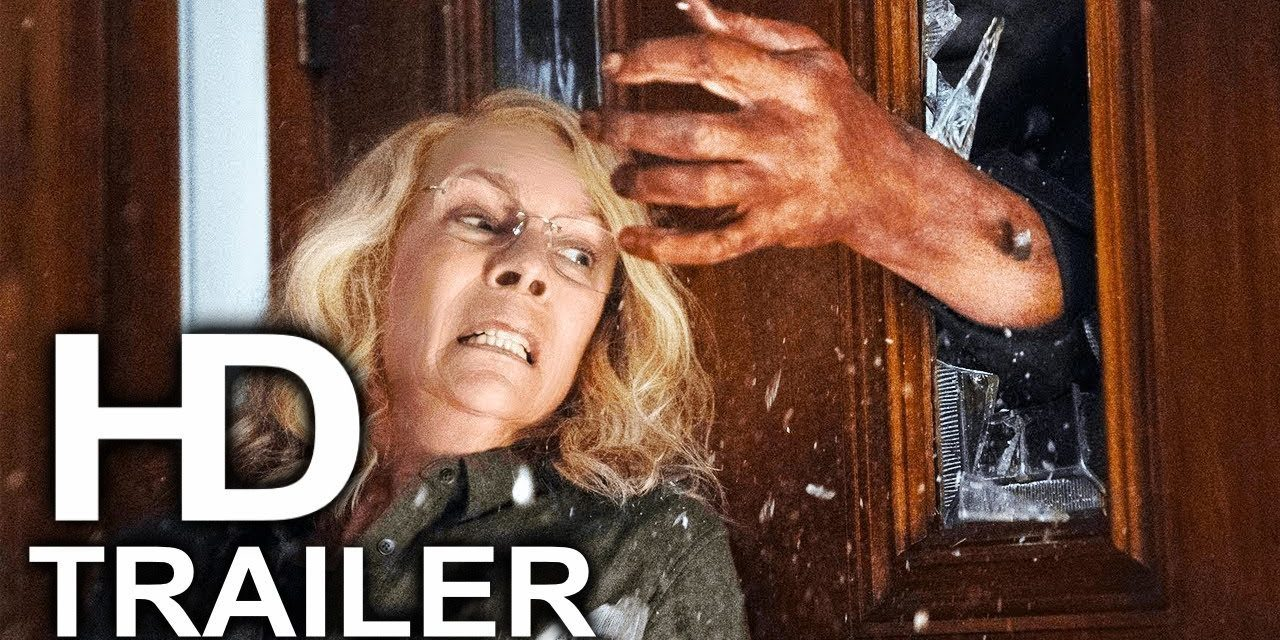 HALLOWEEN Laurie Strode Fight Scene Clip + Trailer NEW (2018) Horror Movie HD