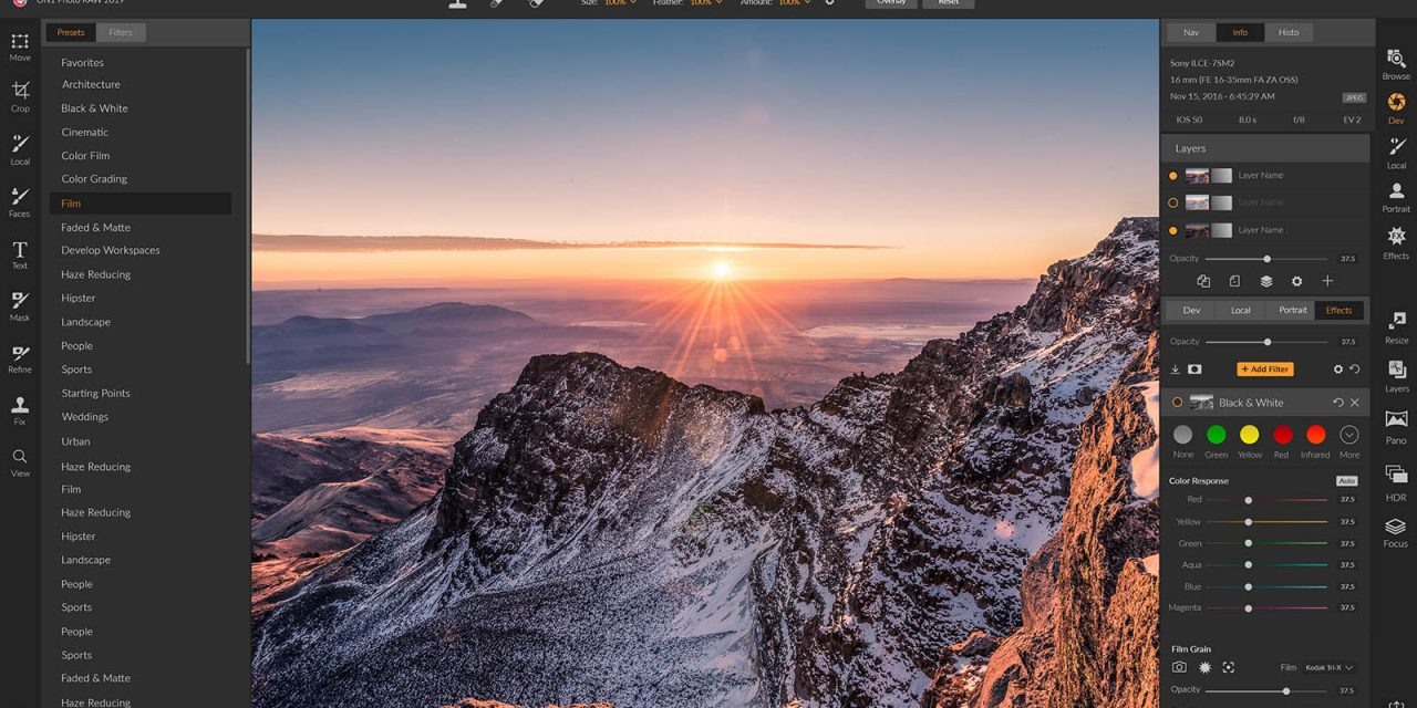ON1 Photo RAW 2019 Adds New Workflow and Powerful Features