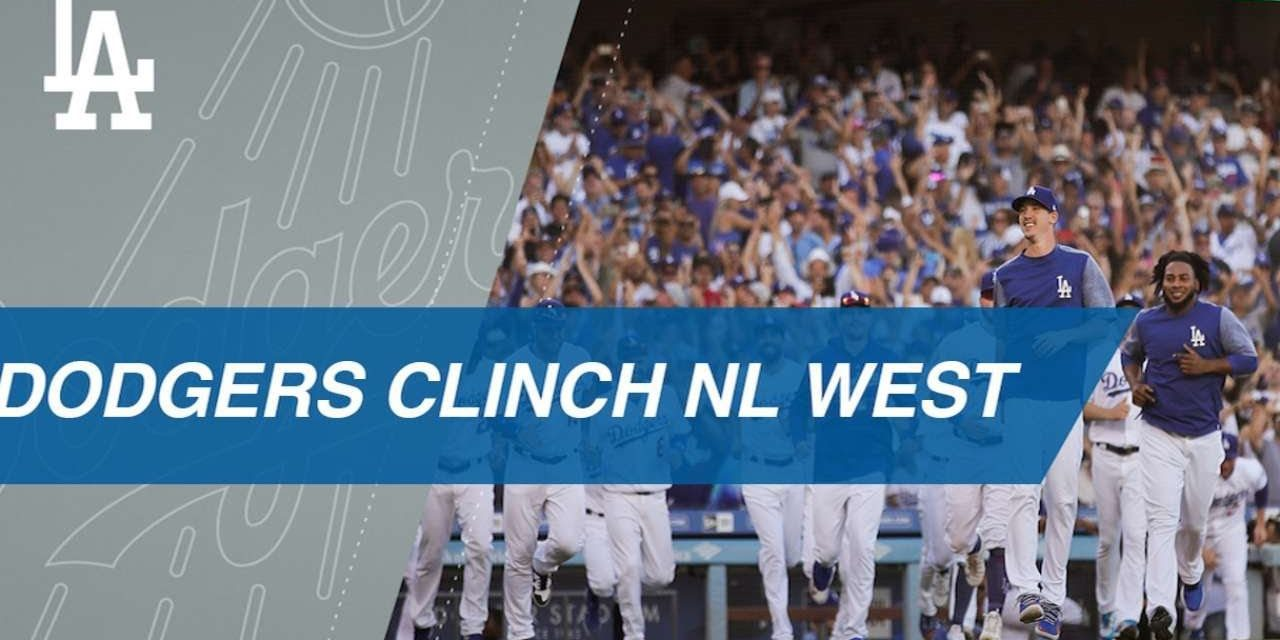 Dodgers clinch NL West title with win in Game 163