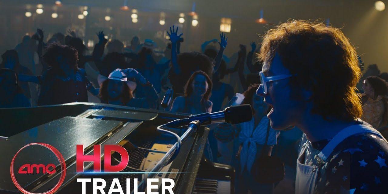 ROCKETMAN – Official Teaser Trailer (Taron Egerton) | AMC Theatres (2019)