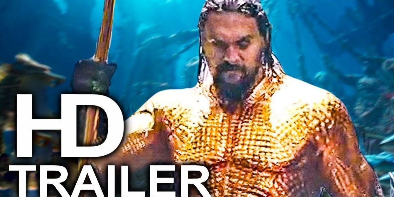 AQUAMAN Trailer #2 NEW (2018) Superhero Movie HD