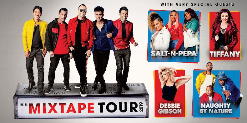 New Kids on the Block, Salt-N-Pepa, Naughty by Nature, More Team for Tour, New Song