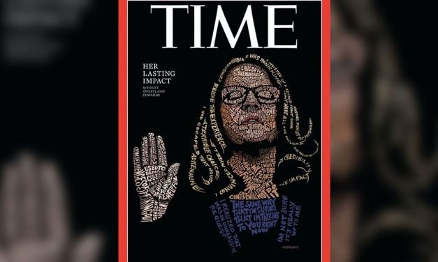Powerful 'Time' cover uses testimony quotes to create striking image of Christine Blasey Ford