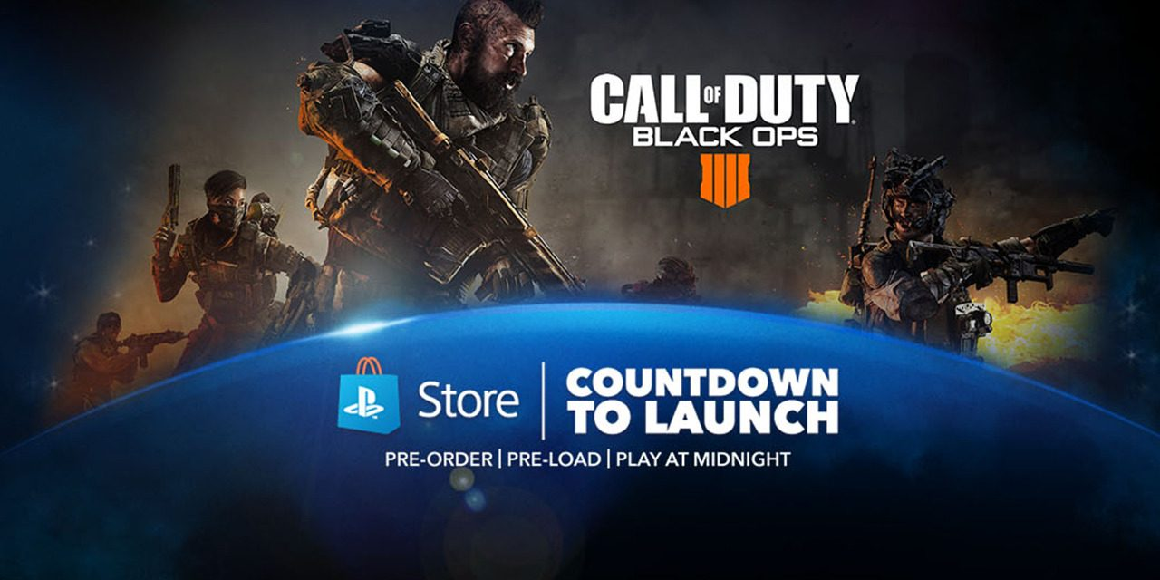 Countdown to Launch Event for Call of Duty: Black Ops 4 Starts Now