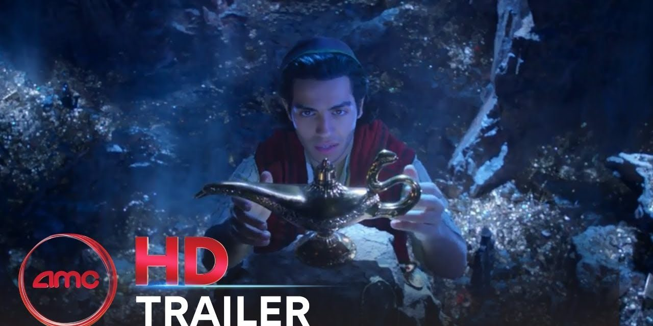 ALADDIN – Official Teaser Trailer (Mena Massoud, Naomi Scott, Will Smith)   AMC Theatres (2019)