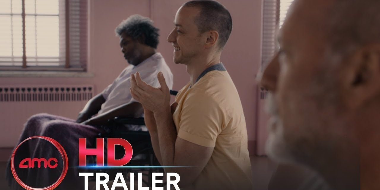 GLASS – Official Trailer #2 (James McAvoy, Bruce Willis, Samuel L. Jackson)   AMC Theatres (2019)