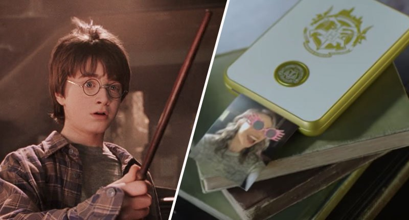 New Harry Potter Printer Prints Out Moving Images Like In The Films