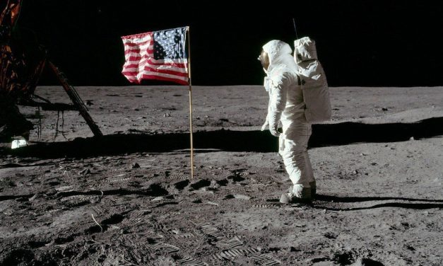 There Are A Lot Of American Flags In 'First Man.' We Know Because We Counted.