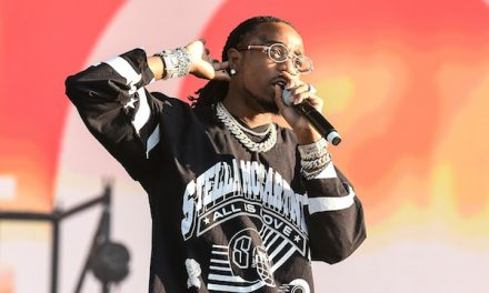 Quavo Incorporates His Love For Hoops And Hip-Hop For 'Huncho Hoops' With The Venice Basketball League