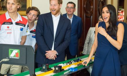 This clip of Prince Harry laughing at Meghan Markle will make you love them even more